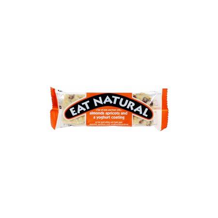 Mandel- & abrikosbar m.  youghurt overtræk Eat Natural