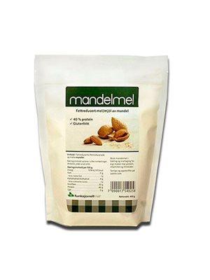 Mandelmel fedtreduceret