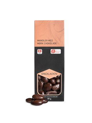 Mandler mørk chokolade Ø