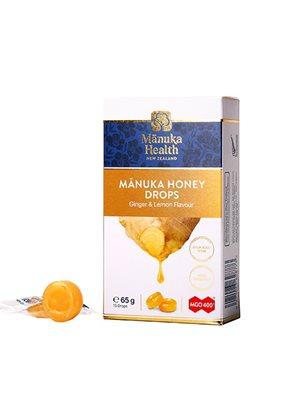 Manuka honning drops Ginger & Lemon