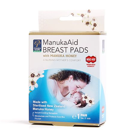 ManukaAid breast pads