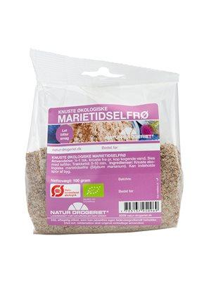 Marietidsel knust Ø m. aftagelig etiket