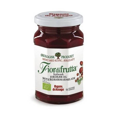 Marmelade Ø m. jordbær & skovjordbær Italiensk