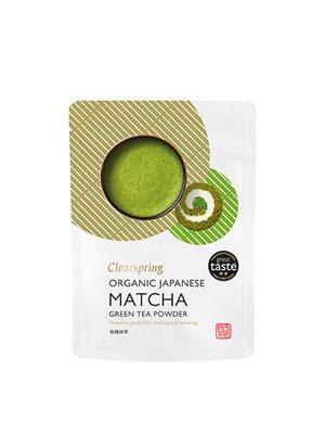 Matcha grøn te pulver Ø (premium grade) Clearspring