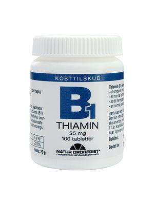 Mega B1 vitamin 25 mg