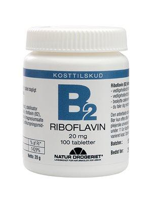 Mega B2 vitamin 20 mg