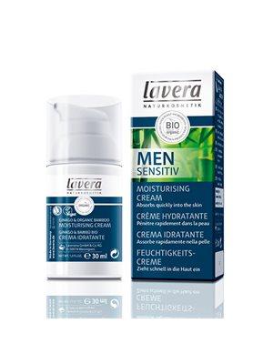 Men Sensitiv fugtighedscreme  nærende Lavera