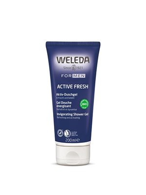 Mens shower gel Weleda
