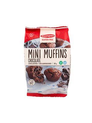 Minimuffins Chokolade