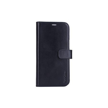 Mobilcover 2in1 iPhone 12PROMAX sort premium læder