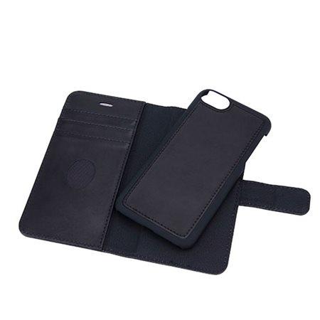 Mobilcover 2in1 iPhone X/Xs  premium læder sort