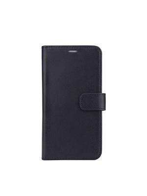 Mobilcover 2in1 iPhone XR sort læder