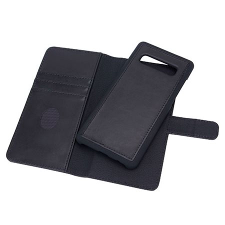 Mobilcover Samsung Galaxy S10+  premium læder sort