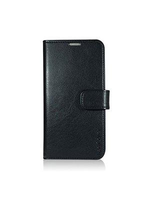 Mobilcover samsung S6 black PU flip-side