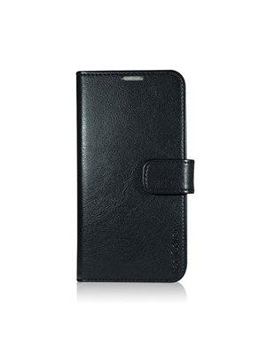 Mobilcover Samsung S7 sort flip-side