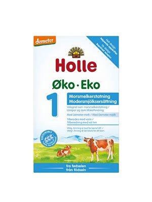 Modermælkserstatning Holle 1 Ø Fra første flaske