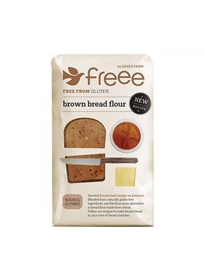 Mørk brødmix glutenfri