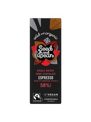 Mørk Chokolade 58% Espresso Ø