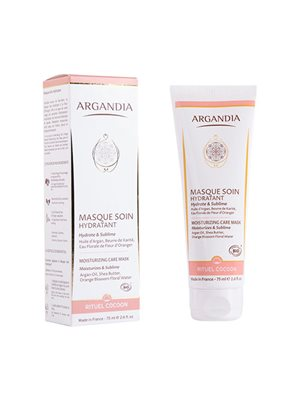 Moisturizing Face Mask  Orange Blossom ARGANDIA