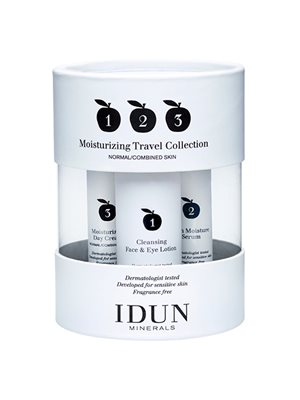 Moisturizing Travel Collection cleansing, serum & day cream