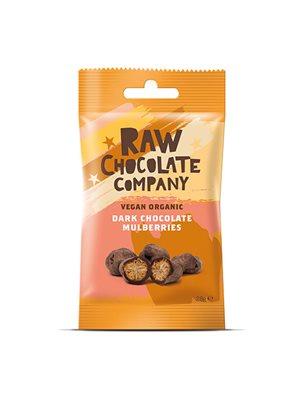 Morbær m. rå chokolade Ø Snack pack