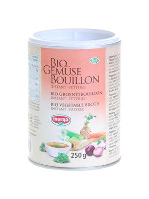 Morga grønsagsbouillon pulver  instant, glutenfri Ø