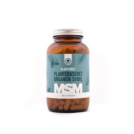 MSM 800 mg Plantforce plantebaseret organisk svovl
