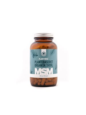MSM Plantforce 1000 mg plantebaseret organisk svovl