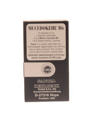 Mucedokehl stikpiller