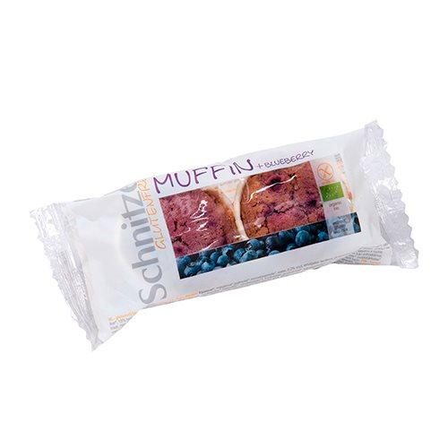Schnitzer Muffins M. Blåbær Glutenfri Ø