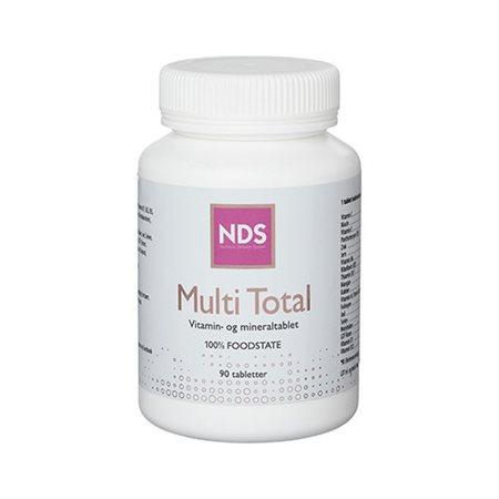 Multi Total multivitamin   og mineral