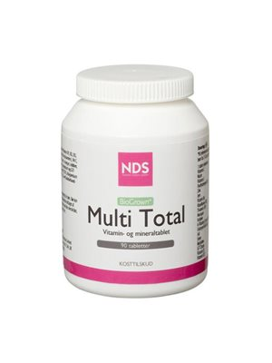 Multi Total multivitamin   og mineral