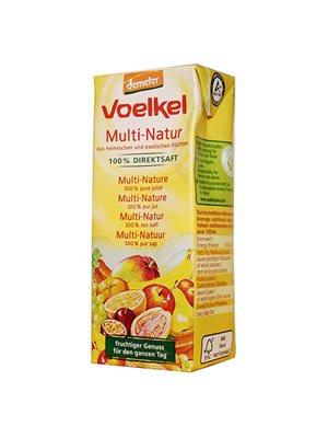 Multinatursaft Tetra 3x200 ml demeter Ø Voelkel