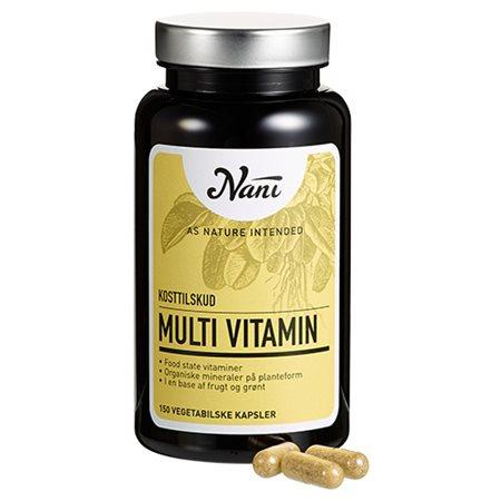 Multivitamin food state Nani