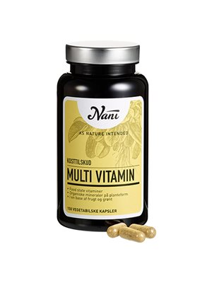 Multivitamin food state Nani