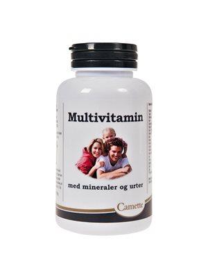 Multivitamin med mineraler  og urter