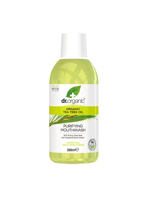 Mundskyl Tea Tree Dr. Organic
