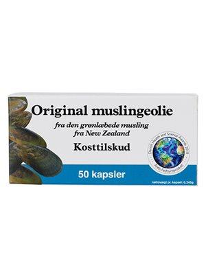 Muslingeolie original  (grønlæbede)