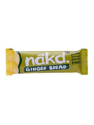 Näkd bar ginger bread