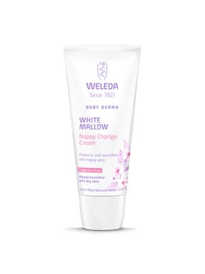 Nappy change cream White  Mallow Baby Derma Weleda