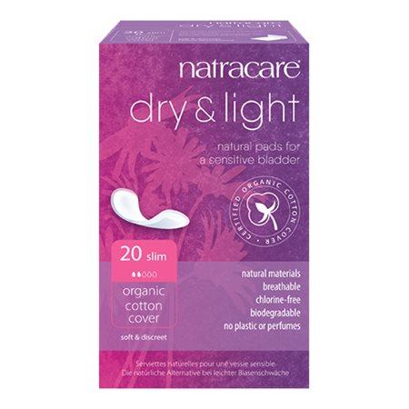 Natracare Dry & Light 20 stk. (inkontinens)