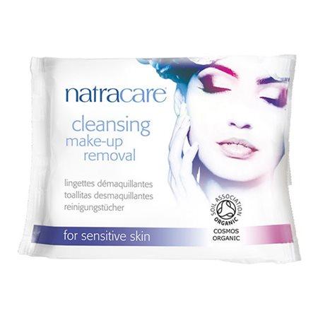 Natracare makeup fjerner 20 stk vådservietter