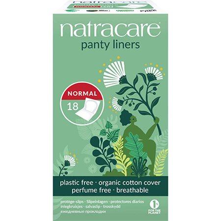 Natracare trusseindlæg 18 stk (indpakket)