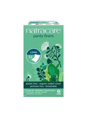 Natracare trusseindlæg,  panty, liner long (enkeltvis indpakket)