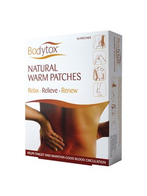 Natural Warm Patches 14 stk