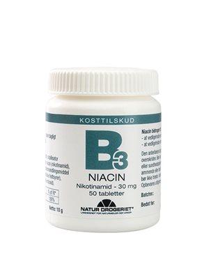 Niacin (amid) B3 30 mg