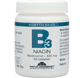 Niacin (nikotinamid) 420 mg