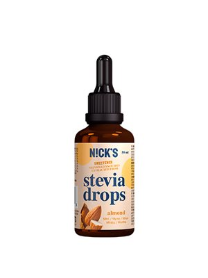 Nicks stevia drops almond