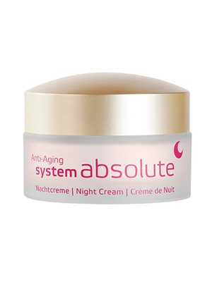 Night Cream anti age System  Absolute Annemarie Börlind