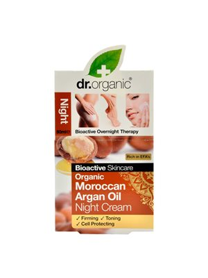 Night cream argan Dr. Organic